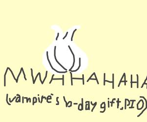 vamp's b-day gift pio