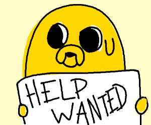 Jake the dog needs help