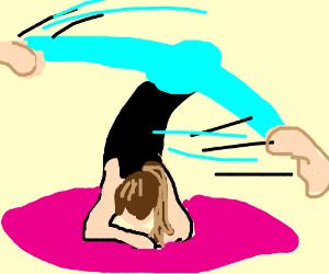 elbowstand (gymnastics)