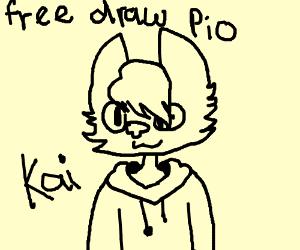 free draw - pass it on.