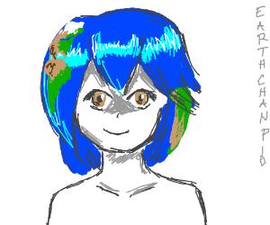 Earth-chan Pio