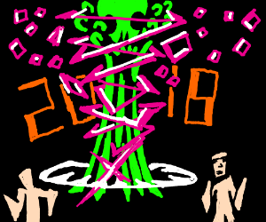 Nuclear Pinksplosion! 2 men running 2018!!!
