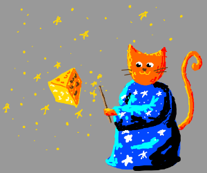 Cat Cheese Wizard
