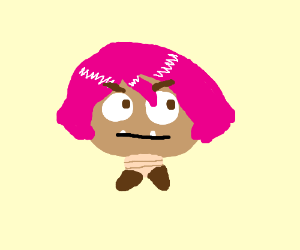 pink haired goomba