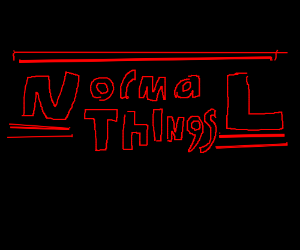 Stranger things logo is actually normal