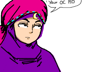 Your OC PIO (Beautiful art btw!!)