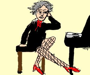 Beethoven is cross-dressing