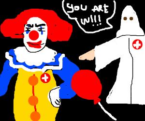 penniwise the kkk clown