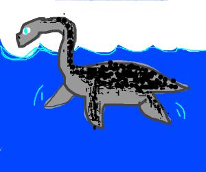 Plesiosaur (swimming dinosaur)