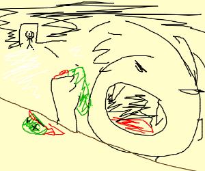 Pickle rick gets brutally murdered.