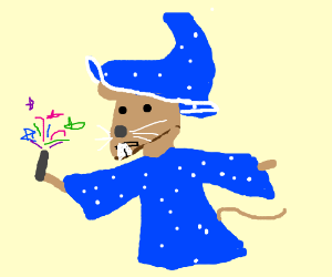 Rat wizard