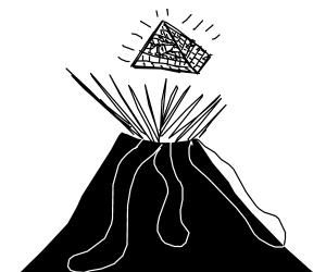 Illuminati volcano