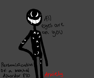 Personification of a mental disorder PIO