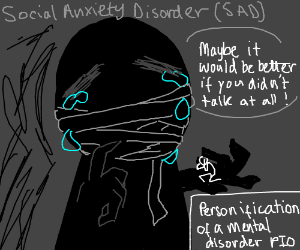 Personification of a Mental Disorder P.I.O.