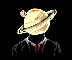 Mr Saturn on Saturn Man