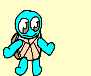 Squirtle drawception - Derpy squirtle ...