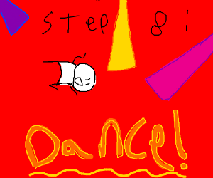 Step 7: realise hell is just a rave party