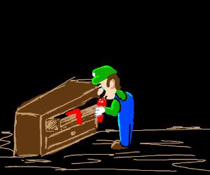 """Luigi takes on the """"Mario"""" mantle"""