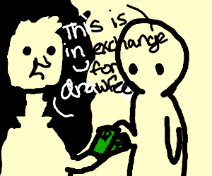 porfo selling drawfee for $25