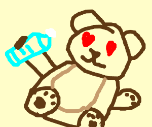 H2Odelirious likes ted bears