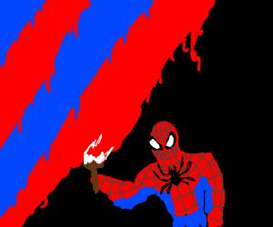 striper spider man