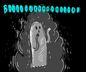 It's a G-g-g-ghost!