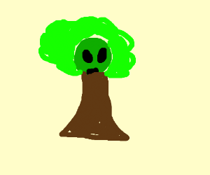 A alien tree