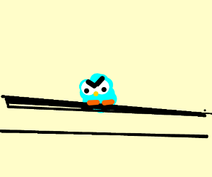 birb on powerline gives no hecc