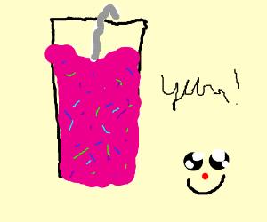 Design a really cool milkshake pio
