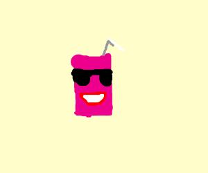 happy pink juice