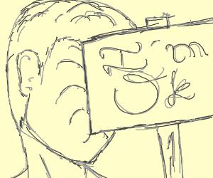 """Man impaled with sign says, """"I'm ok."""""""