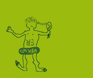 naked blond guy