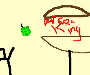 """throwing frag"" but its burger king"