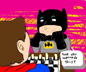 Batman Vs Superman Chess Match