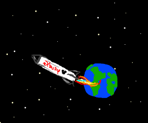Disney is sending rockets to space now