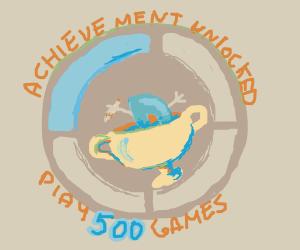 Congratulations on 500 games! :D
