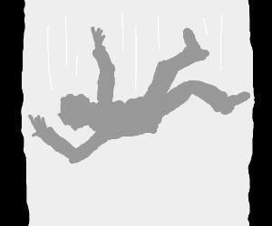 Gray Man falling