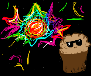 cool muffins don't look at cosmic explosions