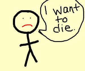 i wanna die