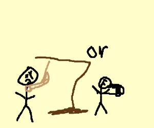 Suicidal stickman