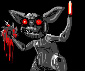 death yoda robot