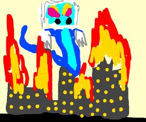 Drampa is now a kaiju