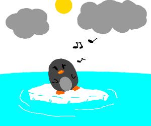 penguin hummin a choon