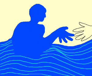 Ocean Man, take me by the hand