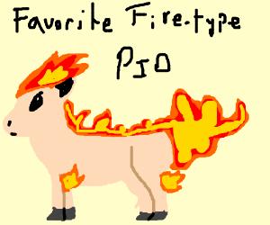 Favourite Fire-type PIO (Alola Marowak)