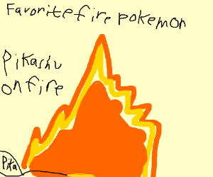 Favorite Fire Type (Rotom Fire Type)