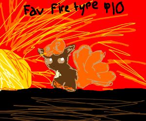 fav fire type PIO Charizard