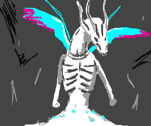 Seath the Scaleless from Dark Souls