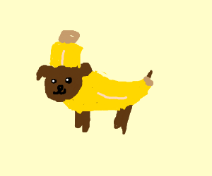 dog in banana costume  sc 1 st  Drawception & dog in banana costume - Drawception