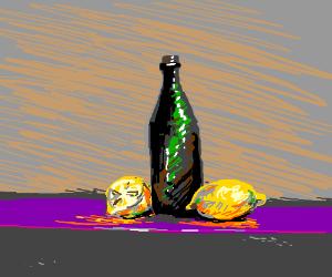 Lemon and Wine